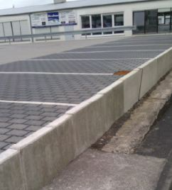 Parken vor dem Abgrund