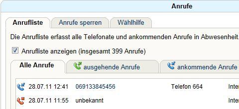 Auszug meier Telefonliste vom 28.07.2011