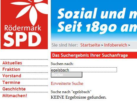 Die SPD zu Flughafen Egelsbach