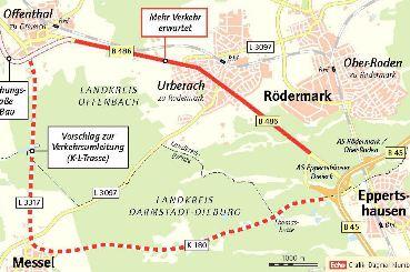 KL-Trasse. Quelle CDU-Messel