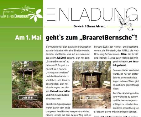 BraaretBernsche und Brunnenfest