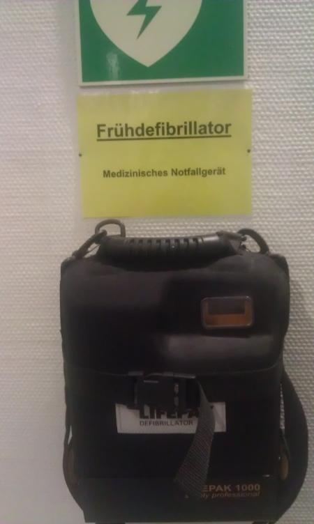 Auf dem Flur im Landgericht Frankfurt