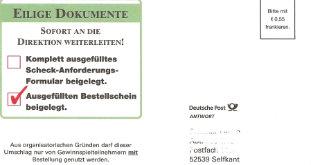 Umschlag Selfkant