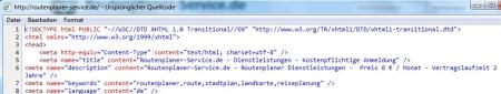 Aus der Webseite Routenplaner-Service.de Stand 22.05.2012 17.33