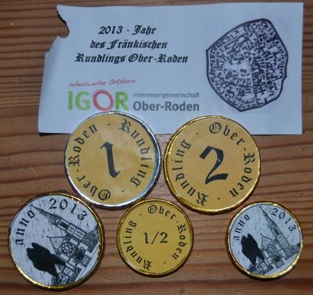 Rundling. Neue Währung für Ober-Roden.