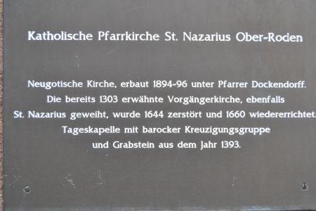 Danach Führung St. Nazarius durch Dr. Kutschera
