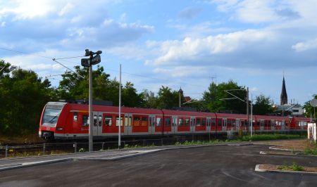 Bahnhof Rödermark. Hier ist eine Videoüberwachung geplant.