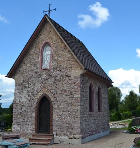 Michaelskapelle. Friedhof Rödermark/Ober-Roden.