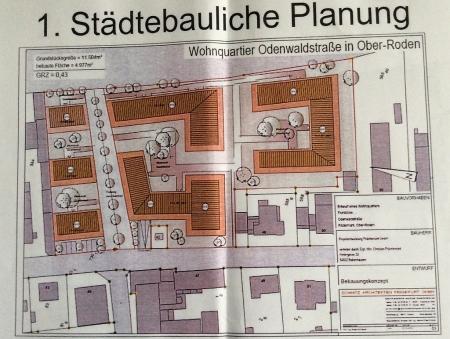 Bebauung an der Odenwaldstraße Odenwaldstraße