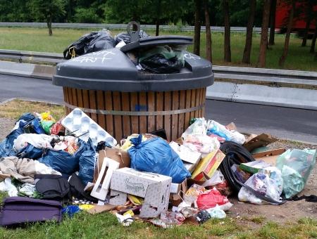 B45. Müllumladestelle wieder geöffnet.