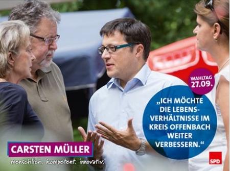 Carsten Müller. Kandidat der SPD