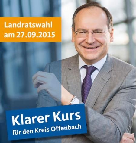 Oliber Quilling. Kandidat der CDU