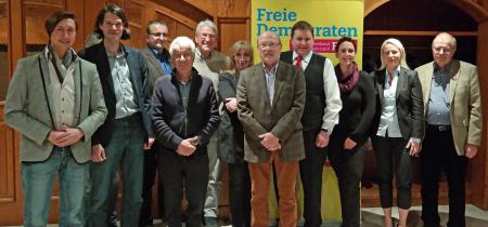 Kandidaten FDP Rödermark zur Kommunalwahl 2016