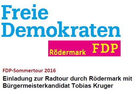 FDP Sommertour 2016