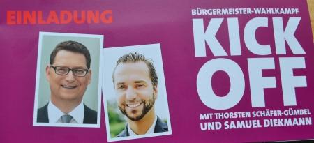 Kick OFF. Thorsten Schäfer-Gümbel, Samuel Diekmann