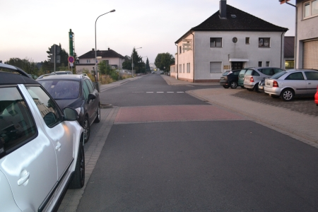 Verkehr auf der Odenwaldstraße