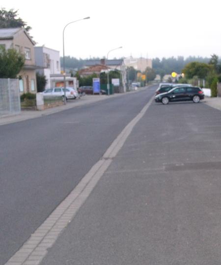 Freie Parkplätze auf der Odenwaldstraß