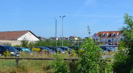 Parkplatz ehem. Hitzel u. Beck. Odenwaldstraße