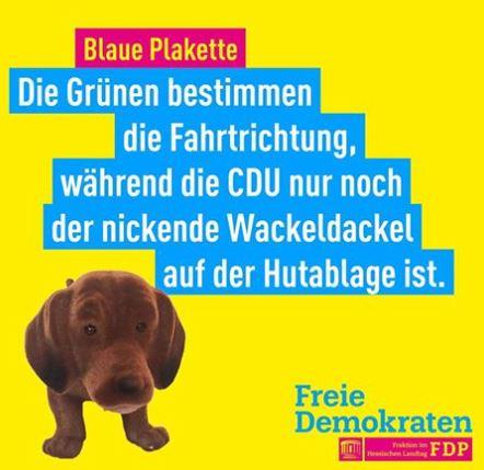 Nie war ein Spruch passender, als dieser zu dem Artikel - Nominierung des BM-Kandidaten der CDU -