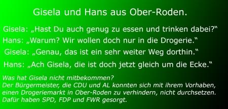 Rödermark/Ober-Roden. Drogerie Rossann.