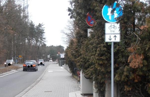 Radweg Waldacker