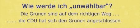 Auch die CDU Rödermark wird unwählbar.