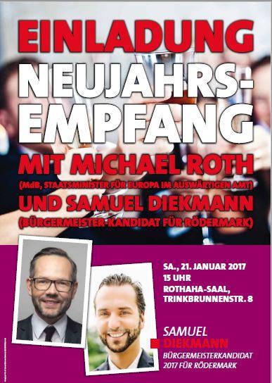 Neujahrsempfang der SPD Rödermark