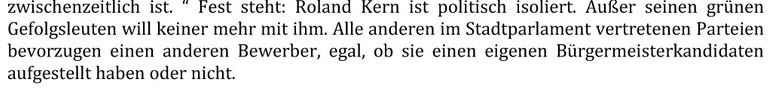 Pressemeldung der CDU Rödermark.