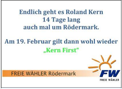 FWR. Jetzt geht es um Rödermark.