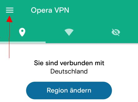 Opera VPN ein- ausschalten