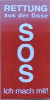 SOS Aufkleber