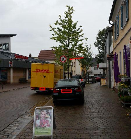 Zone 30 in Rödermark. Ein völlig überflüssiges Schild.