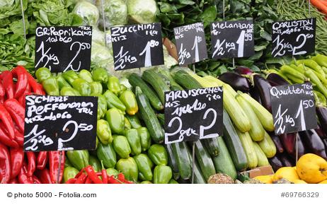 Wochenmarkt in Waldacker