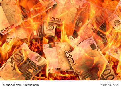 Frühlinhgsgest der Geldverbrennung.