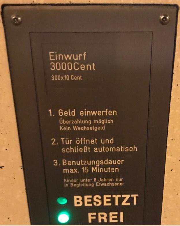 ProfitCenter Toilettenanlage Bahnhof Ober-Roden