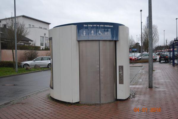 Toilettenanlage Bahnhof Ober-Roden