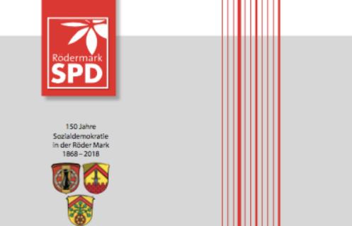 Festschrift, 150 Jahre SPD