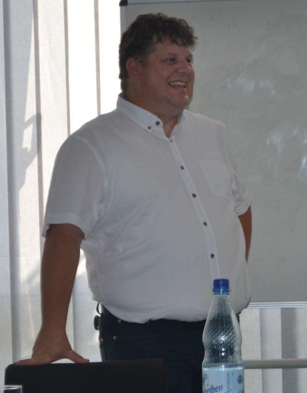 Karsten Falk. Angehender Bürgermeisterkandidat.