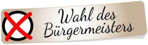 Wahl des Brgermeisters in Rödermark.