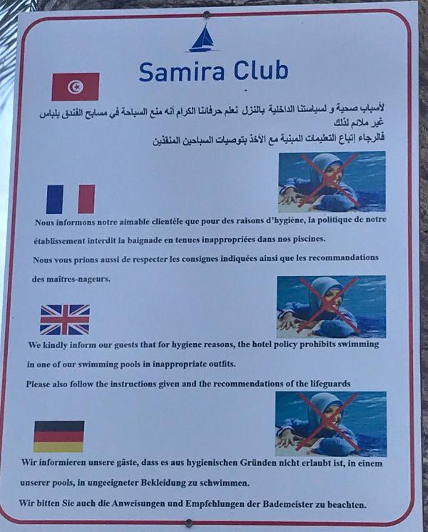 Gesehen in Tunesien.