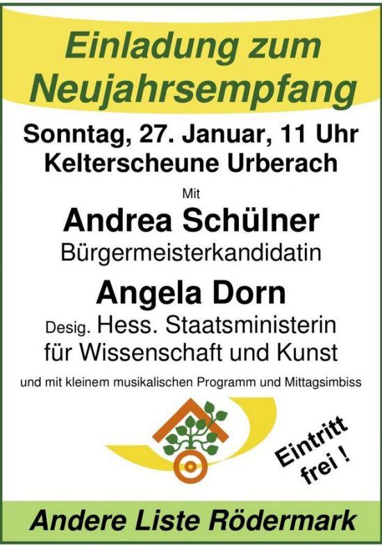 Neujahrsempfang Andrea Schülner