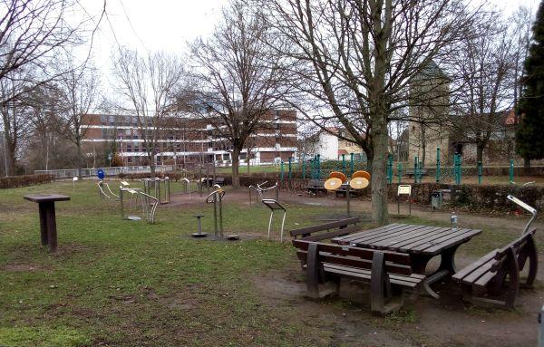 Seniorenspielplatz Dieburg
