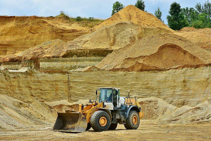 Sandgrube. Q-Sand Dietzenbach