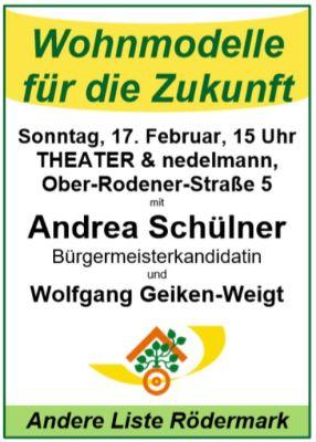Andrea Schülner. Wohnmodell für die Zukunft.