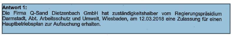 Q-Sand. Sandabbau Dietzenbach.