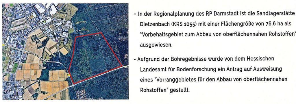 Quarzsandabbau Dietzenbach