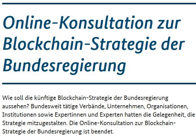Blockchain Strategie