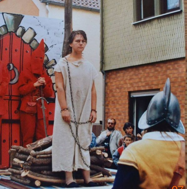 HGV 1986. Wagen zur 1200 Jahrfeier