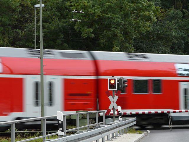 Wartezeiten am Bahnübergang