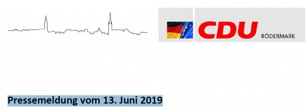 Pressemeldung CDU